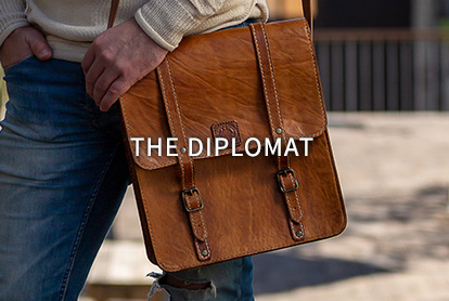 The Diplomat Leather Bag