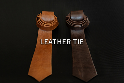 Leather Tie